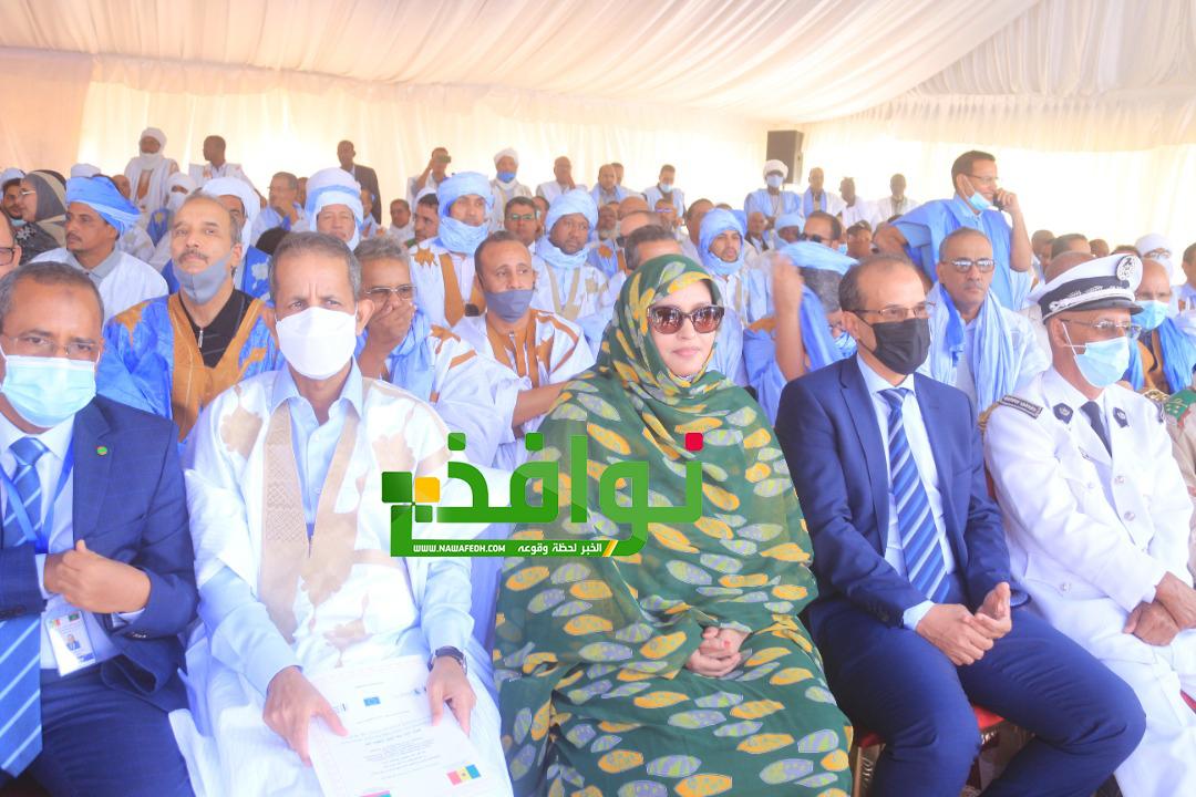 وزير التجارة والسياحة الناها بنت مكناس