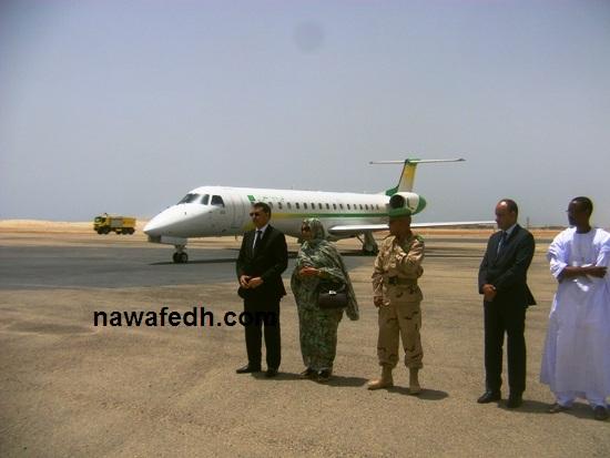 ترتيب االبروتوكول الرئاسي للمسؤولين الكبار لحظة وصول الطائرة التي تقل الرئيس