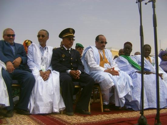 الرئيس على المنصة الرسمية لمهرجان كيهيدي