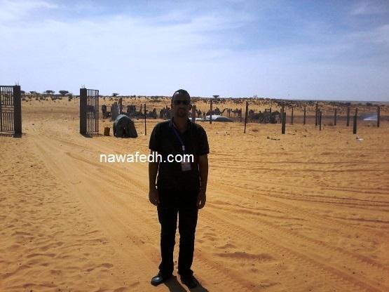 الزميل عبد المجيد في لكويعة بعدما خلت من زوارها الرسميين وبدأت في استقبال الأوفياء من عشاقها