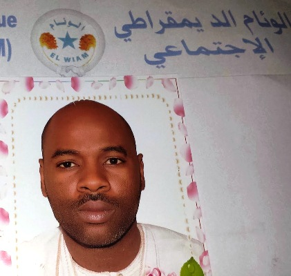 المصطفى ولد عبد البركة منسق حزب الوئام بلبراكنة