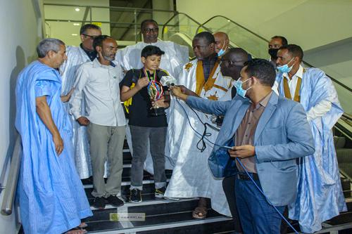 وزارة الثقافة تحتفي بالطفل الموريتاني الفائز بالبطولة الإفريقية للشطرنج