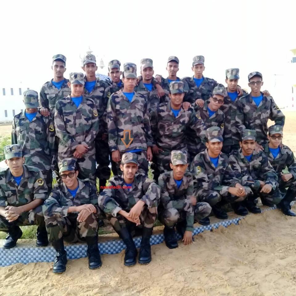 صورة جماعية من فصل الباكلوريا الرياضية في الثانوية العسكرية هذه السنة