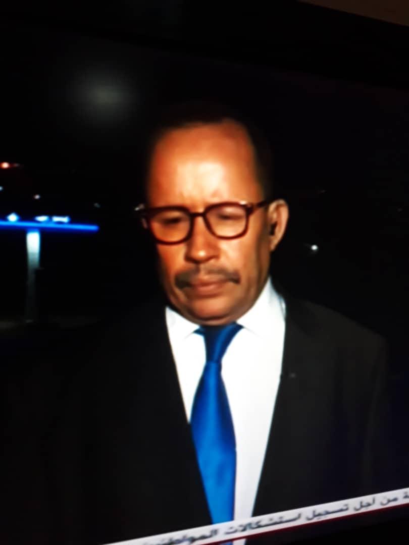 والي نواكشوط الجنوبية خلال مقابلته مع الموريتانية