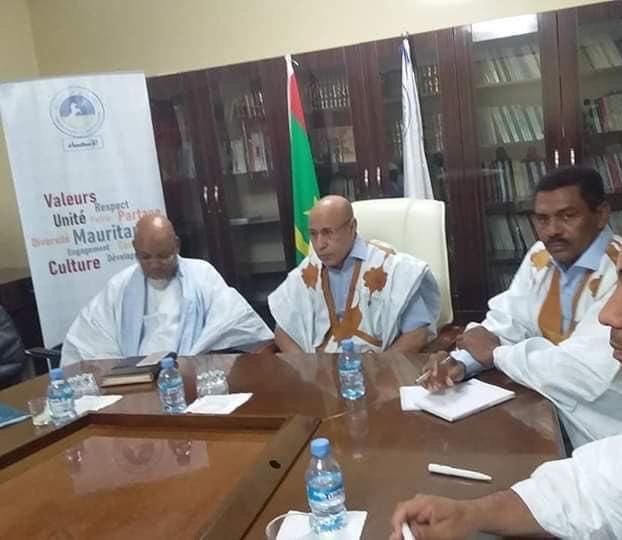 صورة ثانية من اجتماع غزواني باللجنة تظهر بشكل أوضح إزالة صورة صورة عزيز