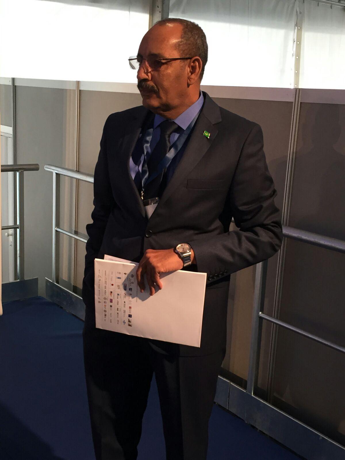 وزير الداخلية أحمدو ولد عبد الله