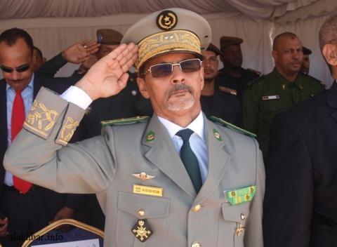 قائد أركان الجيوش الموريتانية