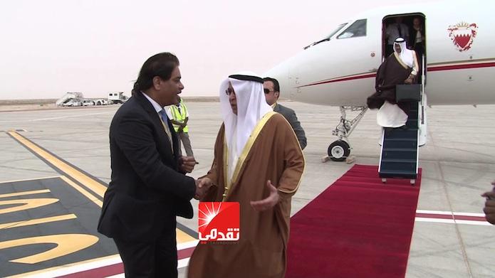 تأخر ولد حدمين عن استقبال ممثل البحرين يغضبه