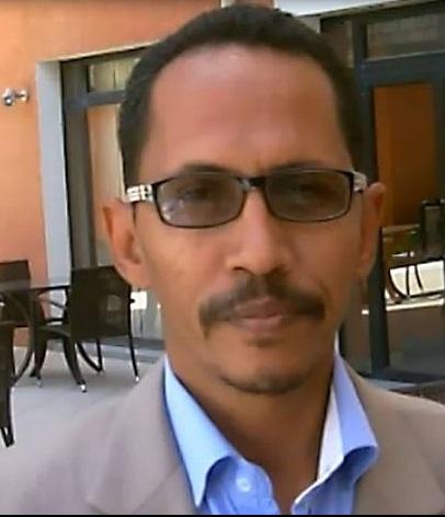 المدير الناشر لوكالة أنباء الشرق الزميل محمد محمود ولد شياخ