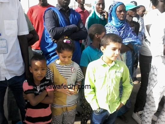 الأطفال السوريون ثبتوا في مقدمة مستقبلي الرئيس