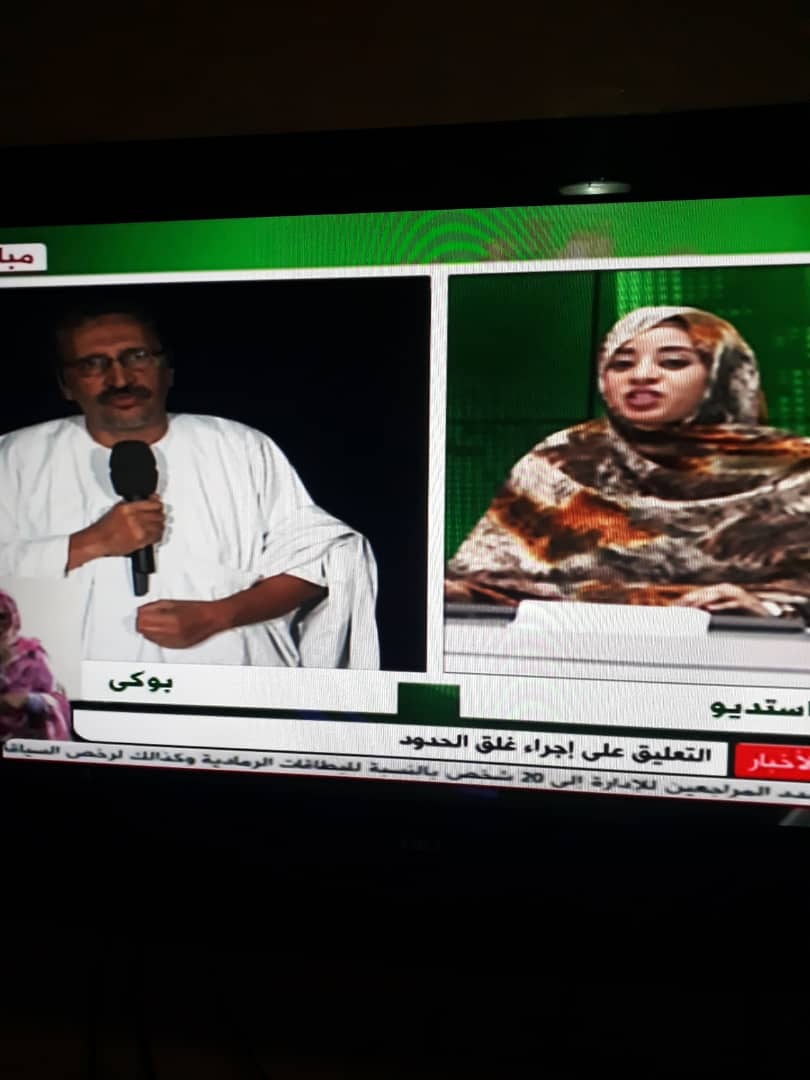 حاكم بوغي خلال مقابلته مع الموريتانية