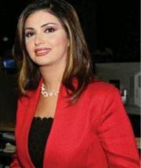 الصحفية بالجزيرة إيمان عياد