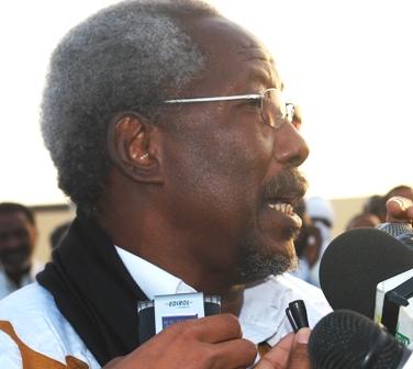 رئيس حزب التحالف الشعبي التقدمي مسعود ولد بولخير