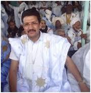 الراحل في إحدى حلقاته مع الزميل عبد المجيد ولد إبراهيم